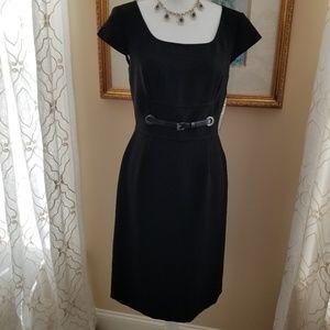Tahari Arthur Levine Black Dress